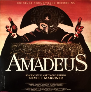 Academy Of St. Martin-in-the-Fields/Neville Marriner ‎- Amadeus: Original Soundtrack Recording (LP) (NM/G-)